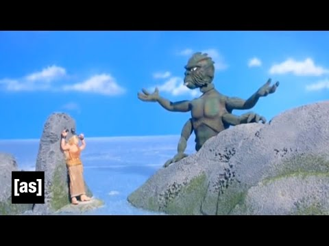 Clash Of The Titans Spoof Robot Chicken Adult Swim