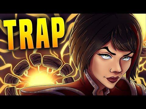BOOBY TRAP VIVIAN IS CRAZY!! | Paladins Vivian Gameplay & Build