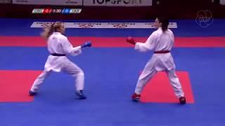 Grand Winner Anzhelika Terliuga and the thrills of the Karate 1-Premier League