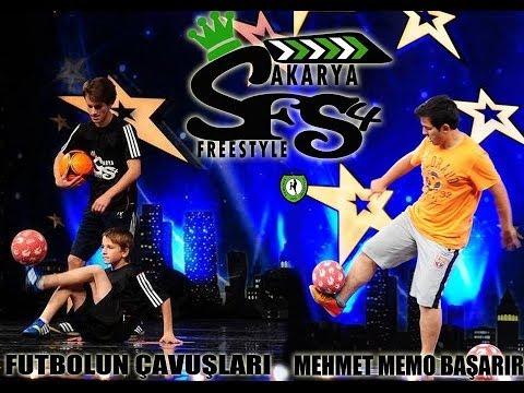 Sakarya Freestyle Football Futbol Gösteri Ekibi Promo 2013
