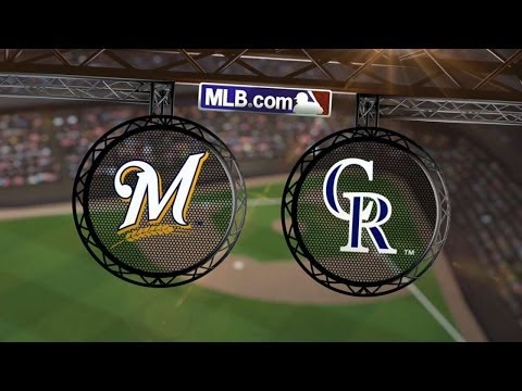 6/20/14: Brewers come out on top in slugfest