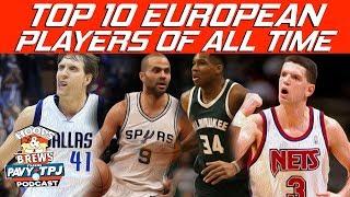Top 10 European Players   Hoops N Brews