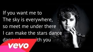 Selena Gomez - Stars Dance LYRICS