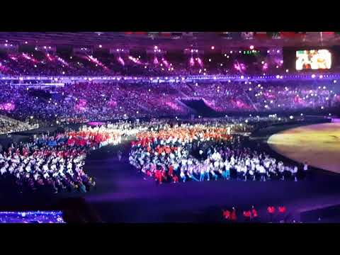INDONESIA RAYA - Opening Ceremony 18th ASIAN GAMES 2018