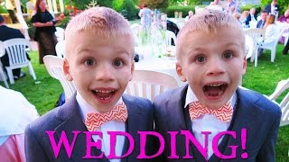LOST TOOTH AT A WEDDING! || Mommy Monday