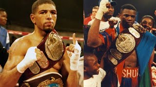 CONTROVERSIAL DECISIONS: WINKY WRIGHT GETS ROBBED OF HIS IBF 154LB TITLE DUBIOUSLY VS HARRY SIMON!