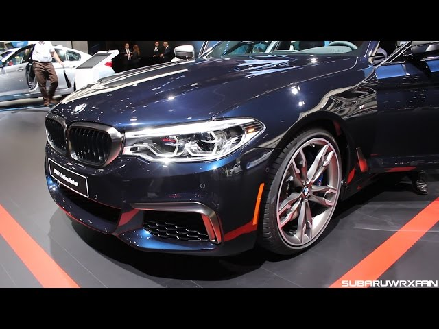 2017 BMW M550i xDrive Close-Up Look!