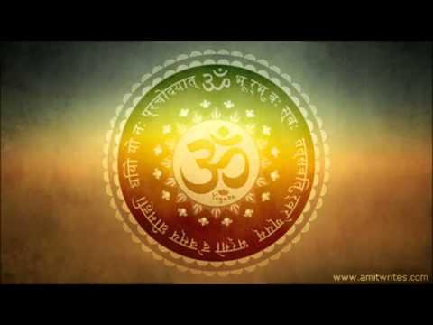 Instrumental Gayatri Mantra Flute Sitar & Santoor gayatri mantra instrumental