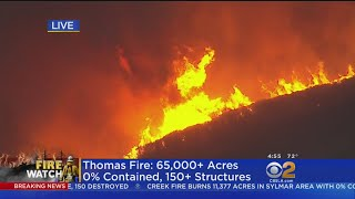 Fires Blacken Massive Swath Of SoCal Landscape
