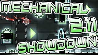 Geometry Dash 2.11 WEEKLY DEMON #1 | MECHANICAL SHOWDOWN by Tongii