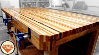 Pallet Wood Workbench