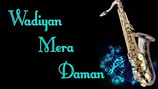 Wadiyan Mera Daman (Abhilasha 1968) - Mohammed Rafi    Best Saxophone Instrumental   HD Quality