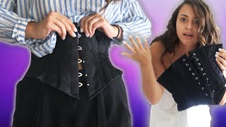 We Wore Vintage-Style Corsets For A Day