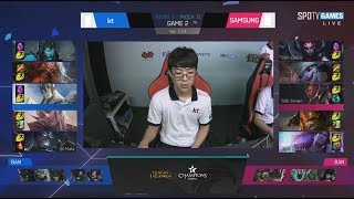 [MEGA REKT] KT (Deft Kalista) VS SSG (Ruler Tristana) Game 2 Highlights - 2017 LCK Summer W8D1