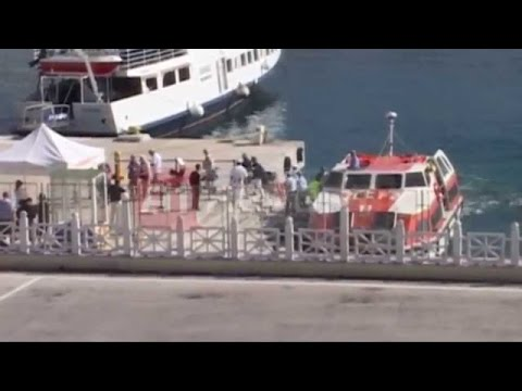 """A1 Report """"Mbretëresha Elizabeth"""" vjen në Sarandë ja pamjet e anijes luksoze"""