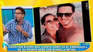 Cristian Rivero habla sobre el embarazo de Gianella Neyra