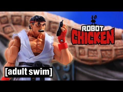 The Best of Street Fighter Robot Chicken Adult Swim
