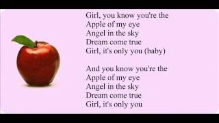Micah G-Apple Of My Eye Lyrics