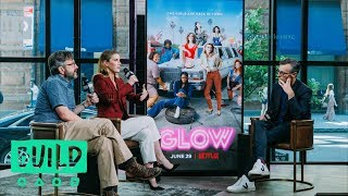 "Betty Gilpin & Marc Maron Talk About Season 2 Of ""GLOW"""