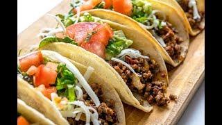 آموزش درست کردن غذای مکزیکی تاکو در سه سوت