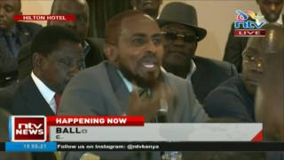 Abduba Dida's hilarious remarks when Presidential candidates met IEBC