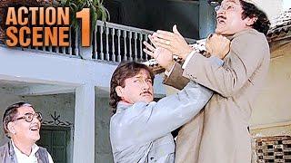 Jackie Shroff & Asrani | Teri Meherbaniyan | Jackie Shroff | Action Scene 1 of 6 | HD