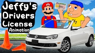 SML Movie: Jeffy's Drivers License! Animation