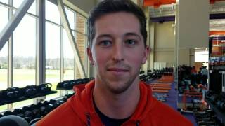 TigerNet.com - Andy Teasdall on Pro Day