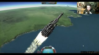 Challenge: Land a Fully Fueled Kerbal-X on Minmus - Livestream