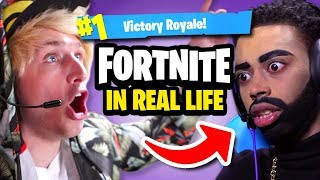 FORTNITE IN REAL LIFE