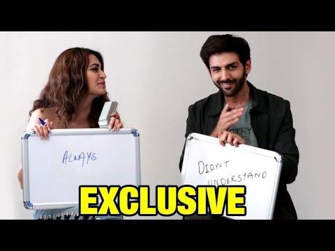 Xxx Mp4 Kartik Aaryan Kriti Kharbanda Play NEVER HAVE I EVER At Guest Iin London Interview 3gp Sex