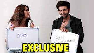 Kartik Aaryan & Kriti Kharbanda Play NEVER HAVE I EVER At Guest Iin London Interview