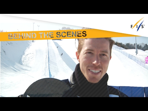Shaun White's first impressions on Pyeongchang 2018 Olympic Halfpipe FIS Snowboard