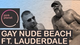 PinkPlanet Ft Lauderdale Gay Nude Beach