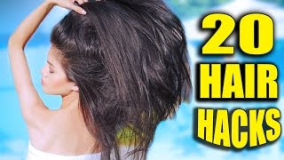 20 HAIR HACKS Every Girl Should Know 💋 2016