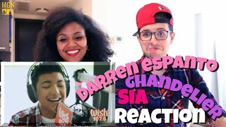 Darren Espanto - Chandelier (Sia) LIVE Cover Reaction