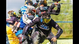 X Factor scrimmage Infamous on AC layout-Raw Paintball