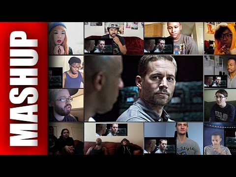 Furious 7 Official Trailer Reactions Mashup