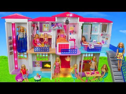 Xxx Mp4 Barbie Dolls Hello Dreamhouse Dollhouse W Kitchen Bathroom Amp Bedroom Doll Toys Play For Kids 3gp Sex