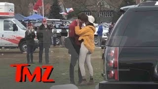 Malia Obama Kissing, Tailgating at First Harvard Yale Game | TMZ