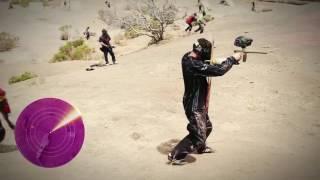 Syndicate vs Tmartn Comic con Paintball war
