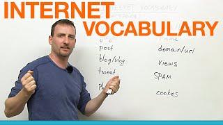 English Vocabulary: 12 Internet words