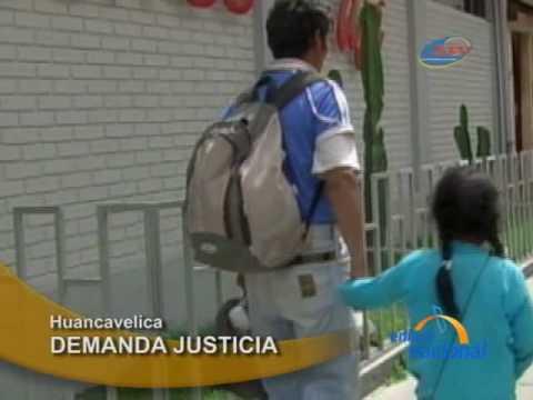 Padre de nina violada por hijo de regidor de Acobamba en Huancavelica pide justicia