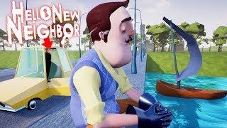 NOVO VIZINHO 2 ANOS DEPOIS!!! O SECRETO ATO 4?!   Hello New Neighbor (Mod)