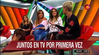 Nazarena Vélez y su hijo 'el Chyno' por primera vez juntos en televisión
