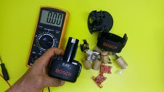 REVIVE  REPAIR the old batteries BOSCH NiCd