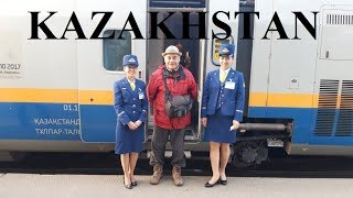 Kazakhstan/Almaty to Astana by Train (1291 km 14 hrs) Part 16