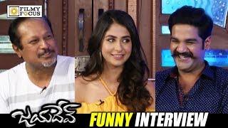 Jayadev Movie Team Funny Interview    Ganta Ravi, Malvika, Jayanth C Paranjee - Filmyfocus.com