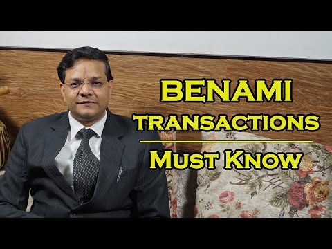 Benami Properties - Must Know | बेनामी संपत्ति नियमावली