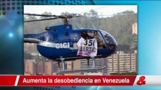 Facción de la policía venezolana se revela contra el Gobierno y Maduro denuncia un ataque terrorista